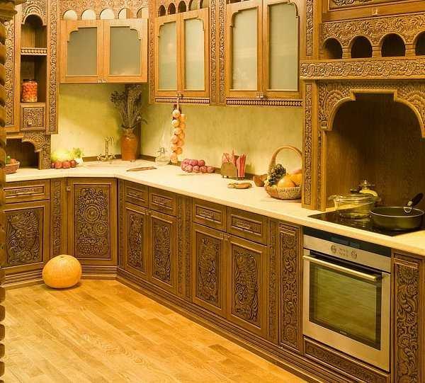 Резная кухня