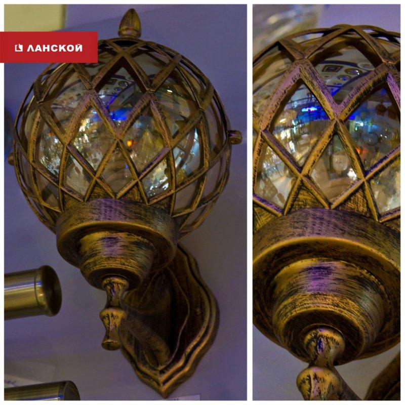 настенный светильник для использования на открытом воздухе