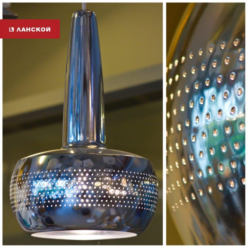 светильник уличный, металлический, колпак