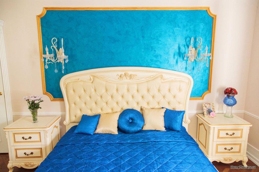 Дизайн проект и ремонт спальни