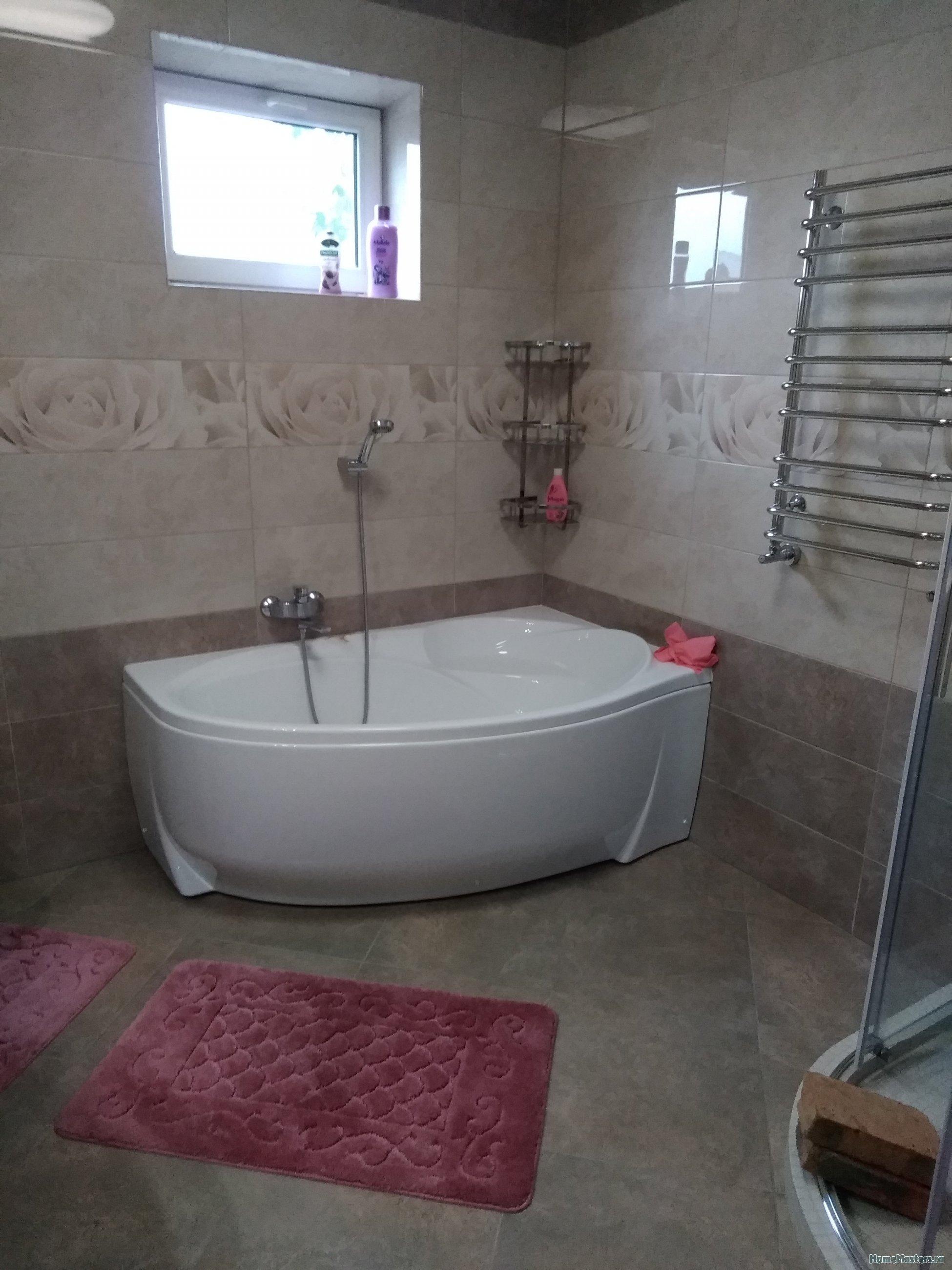 хорошая геометрия ванной