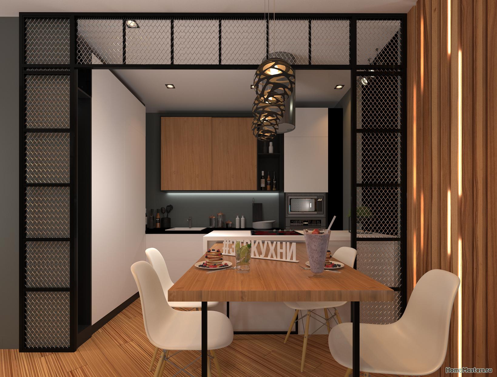 Фрагмент квартиры(кухня)