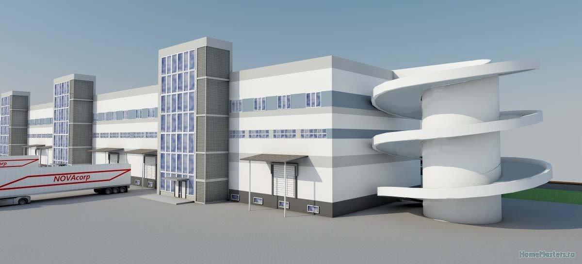 Проект адинистративно-складского комплекса
