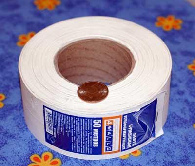 серпянка или бумажная лента что лучше