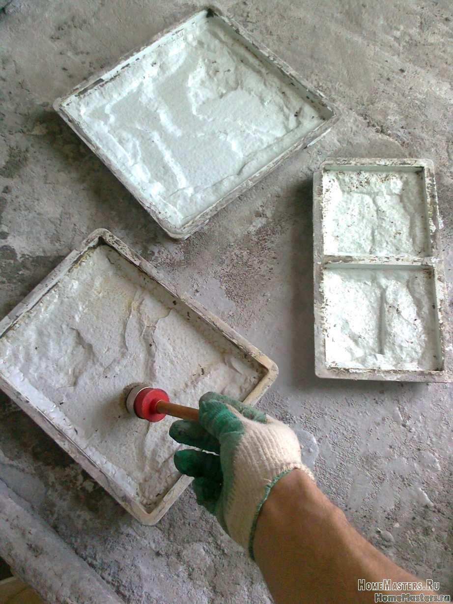 Форма для облицовочной плитки своими руками