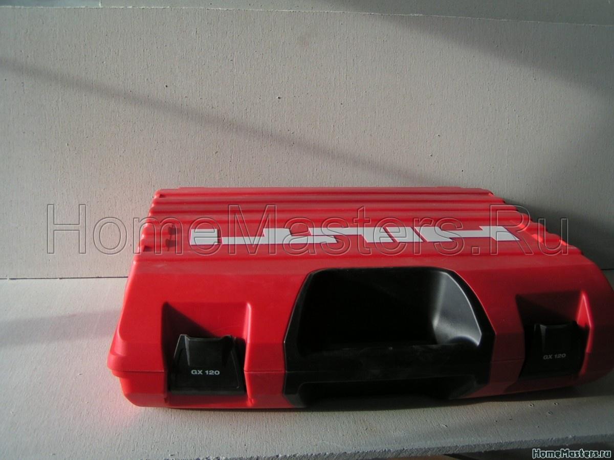 Газовый монтажный пистолет HILTI GX 120