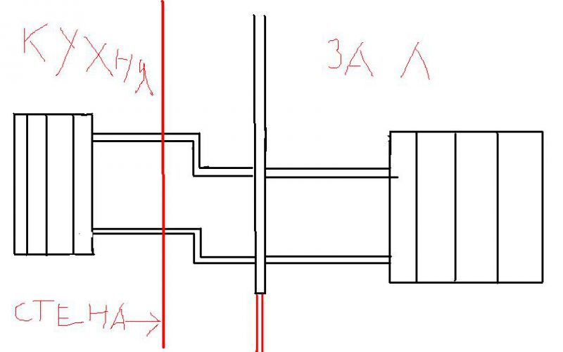 Заготовка американка дюйм с четвертью наружняя резьба тройник 40*40*20 со спускником полдюймовым на 40 трубе