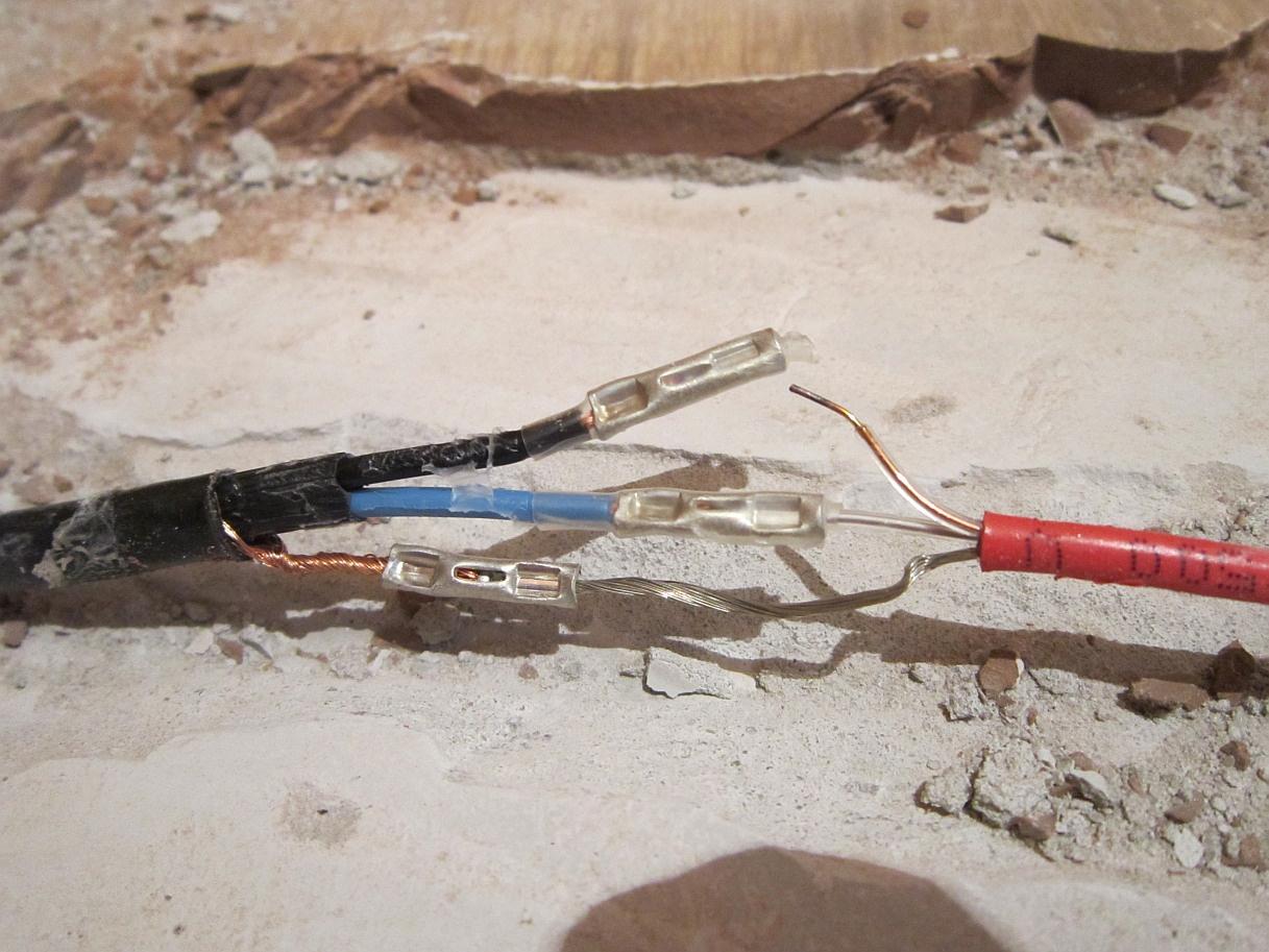 Как найти обрыв кабеля теплого пола
