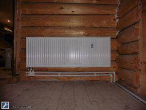 Стальной панельный радиатор Stelrad в деревянном доме - Размер 156,99К, Загружен: 684