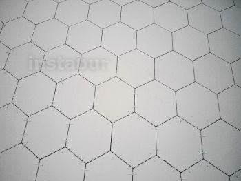 Укладка английской плитки Original Style (Метлахская плитка-шестигранник). Продолжение.