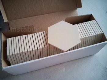 Укладка английской плитки Original Style (шестигранник). Подготовка плитки.