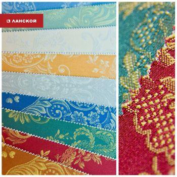 Текстильные обои в ТК «Ланской»