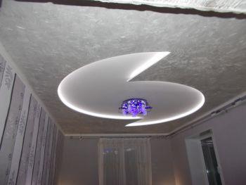 Потолок серого цвета