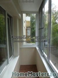 Ширина балкона в панельном доме..