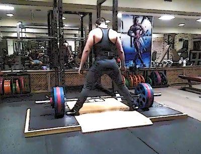 Становая тяга 172,5 кг - Размер 336,89К, Загружен: 2
