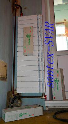 замена радиатора отопления в узком проеме - Размер 198,57К, Загружен: 34