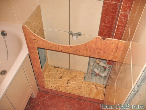 Тумбочка в ванную своими руками