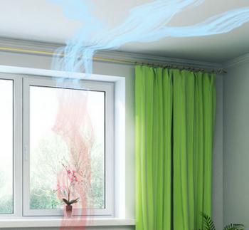 Вентиляция и пластиковые окна