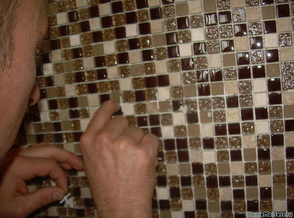 Как уложить мозаику своими руками