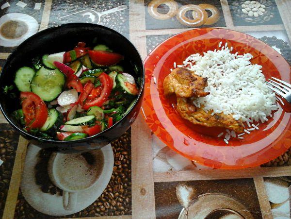 Рис, курица, салат - Размер 434,02К, Загружен: 47