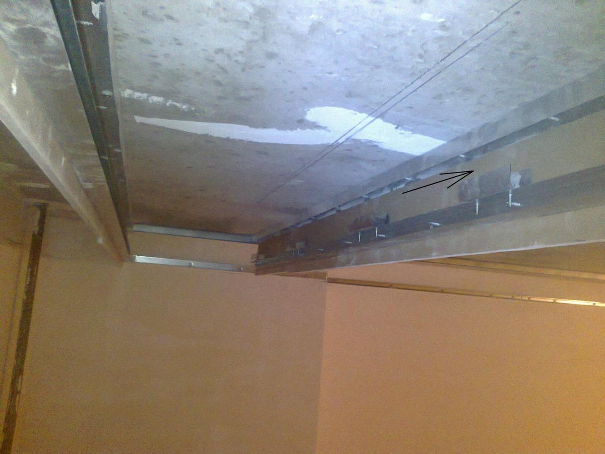 Евроремонт. Подвесной потолок с подсветкой 72
