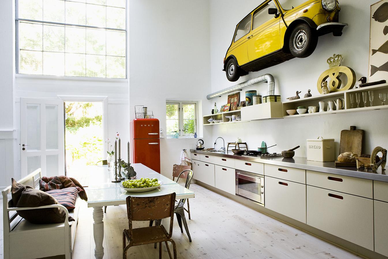 Современная кухня в стиле модерн - особенности отделки