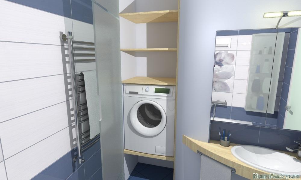 Подиум под стиральную машину своими руками