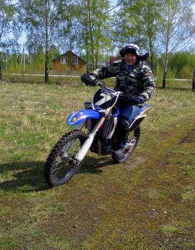 Мотокросс - эндуро мотоциклы : обучение вождению.