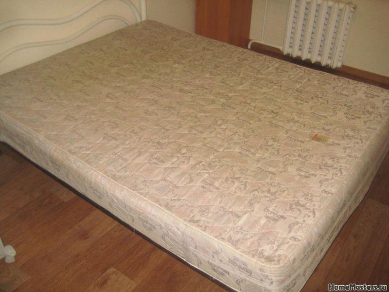 Ремонт матраса для кровати своими руками