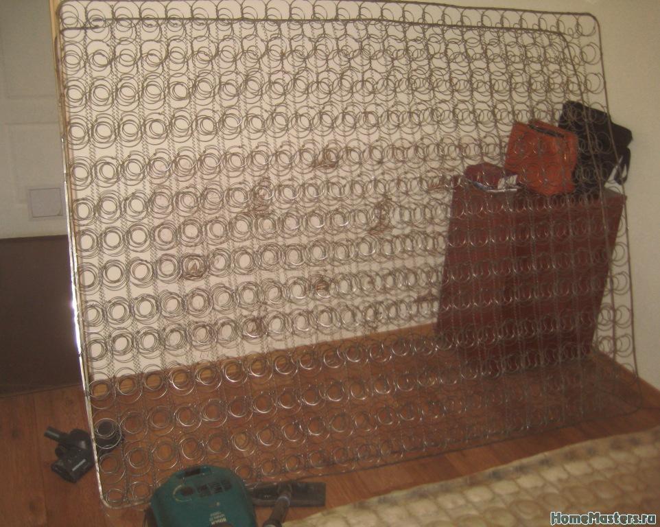 Пружинный матрас своими руками фото 126