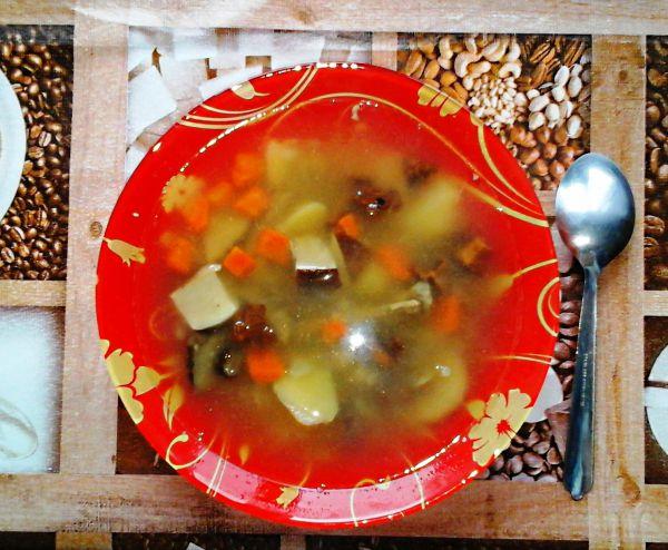 Грибной суп с говядиной - Размер 568,54К, Загружен: 51