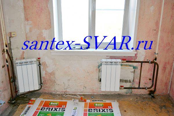 угловая квартира замена радиатора на сварке - Размер 540,91К, Загружен: 55