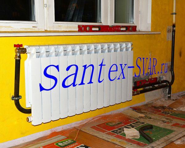 установка радиатора отопления 10 - Размер 551,67К, Загружен: 0
