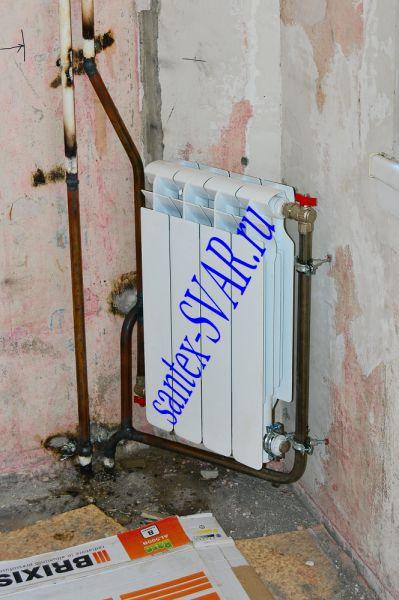 замена радиатора отопления в квартире на сварке - Размер 548,55К, Загружен: 58