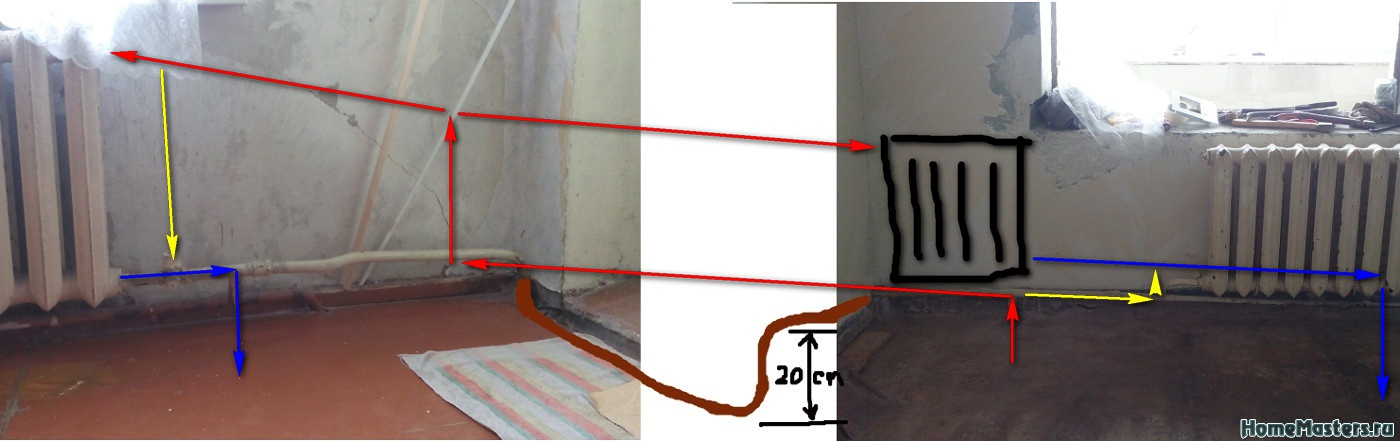 Как правильно подключить полотенцесушитель