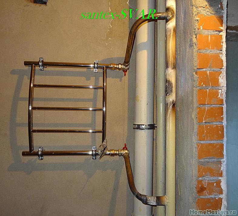 Подключение к стояку через теплообменник gea lwc 150l