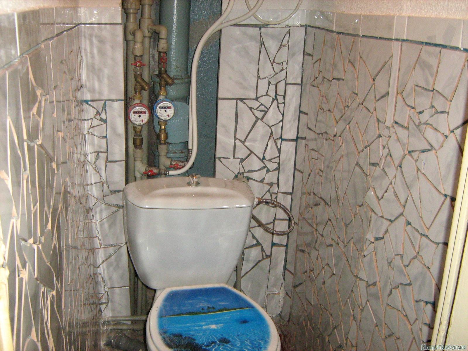 Недорогой ремонт туалетов