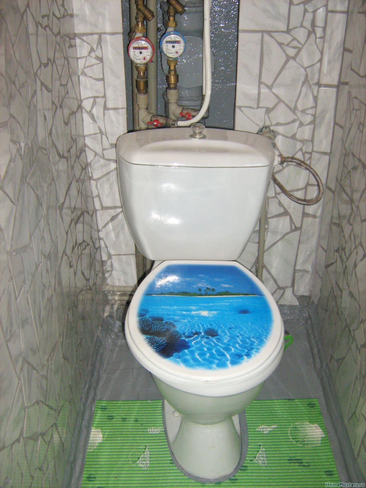 Как отремонтировать туалет 5