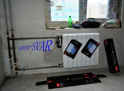 замена радиатора биметалл на сварке - Размер 296,15К, Загружен: 324