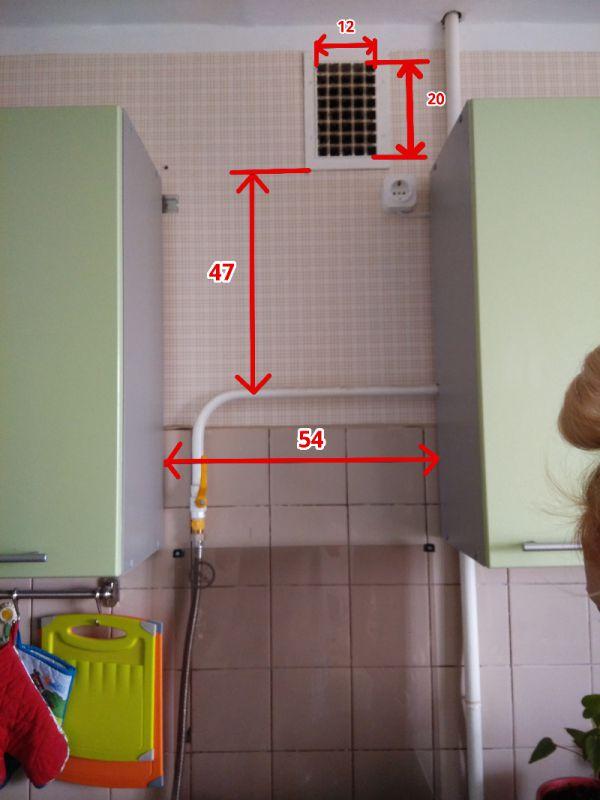 Вентиляция в кухне своими руками