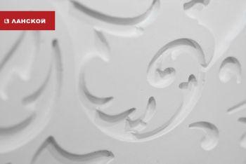 Стеновые 3D-панели в ТК «Ланской»