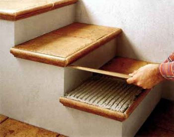 Облицовка ступеней лестницы: выбор подходящего материала