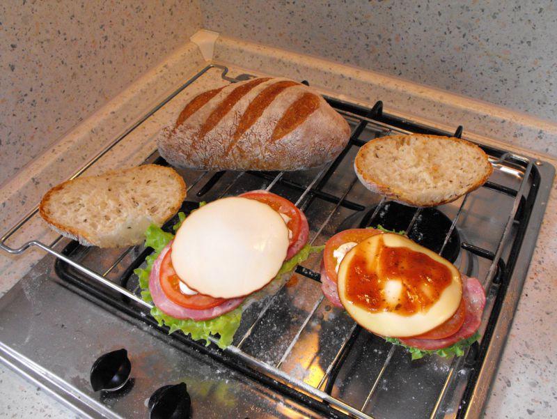 Процесс приготовления Клубного сэндвича по Коломенски - Размер 479,92К, Загружен: 12