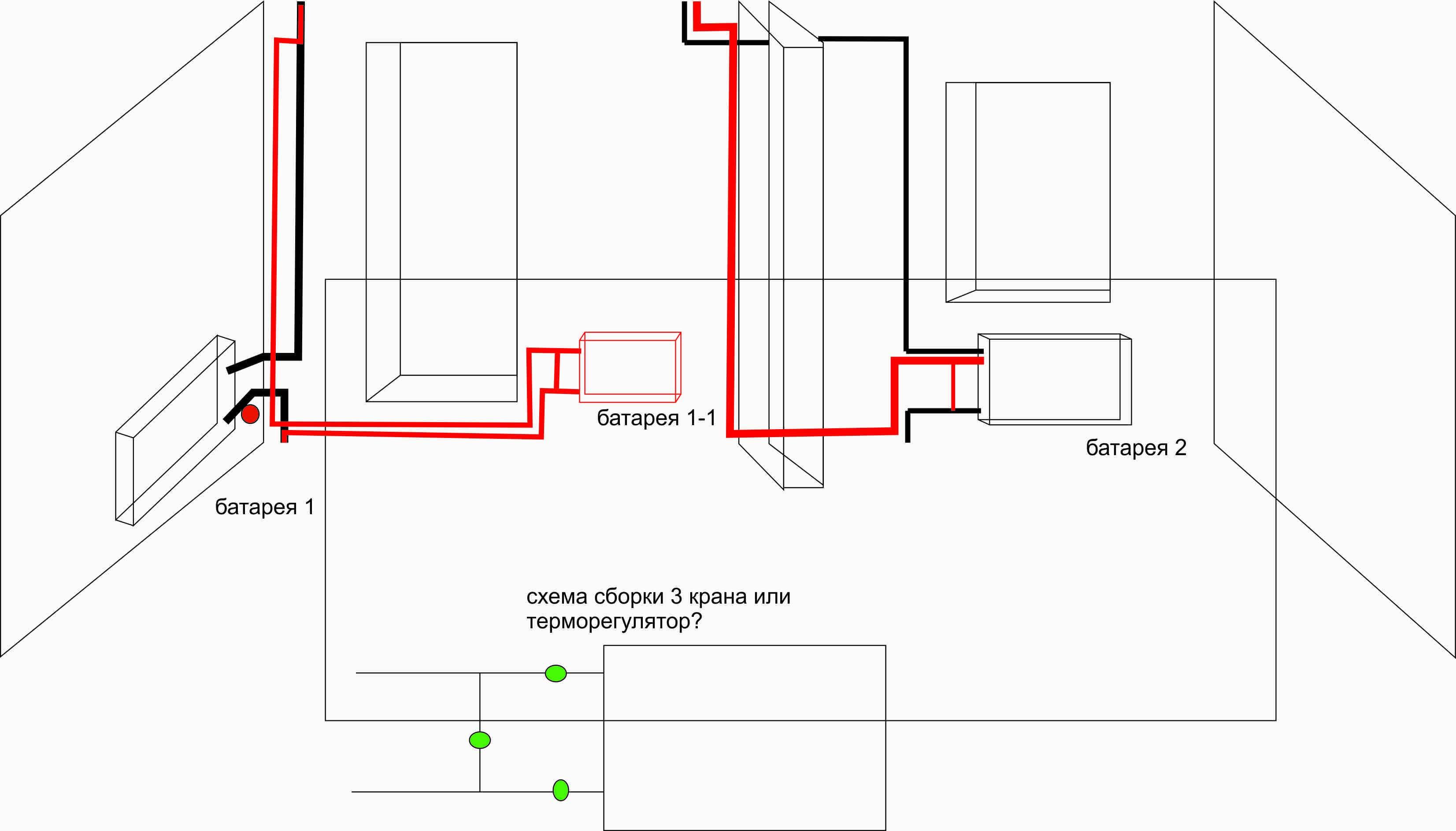 Регистры отопления из гладких труб: сварка