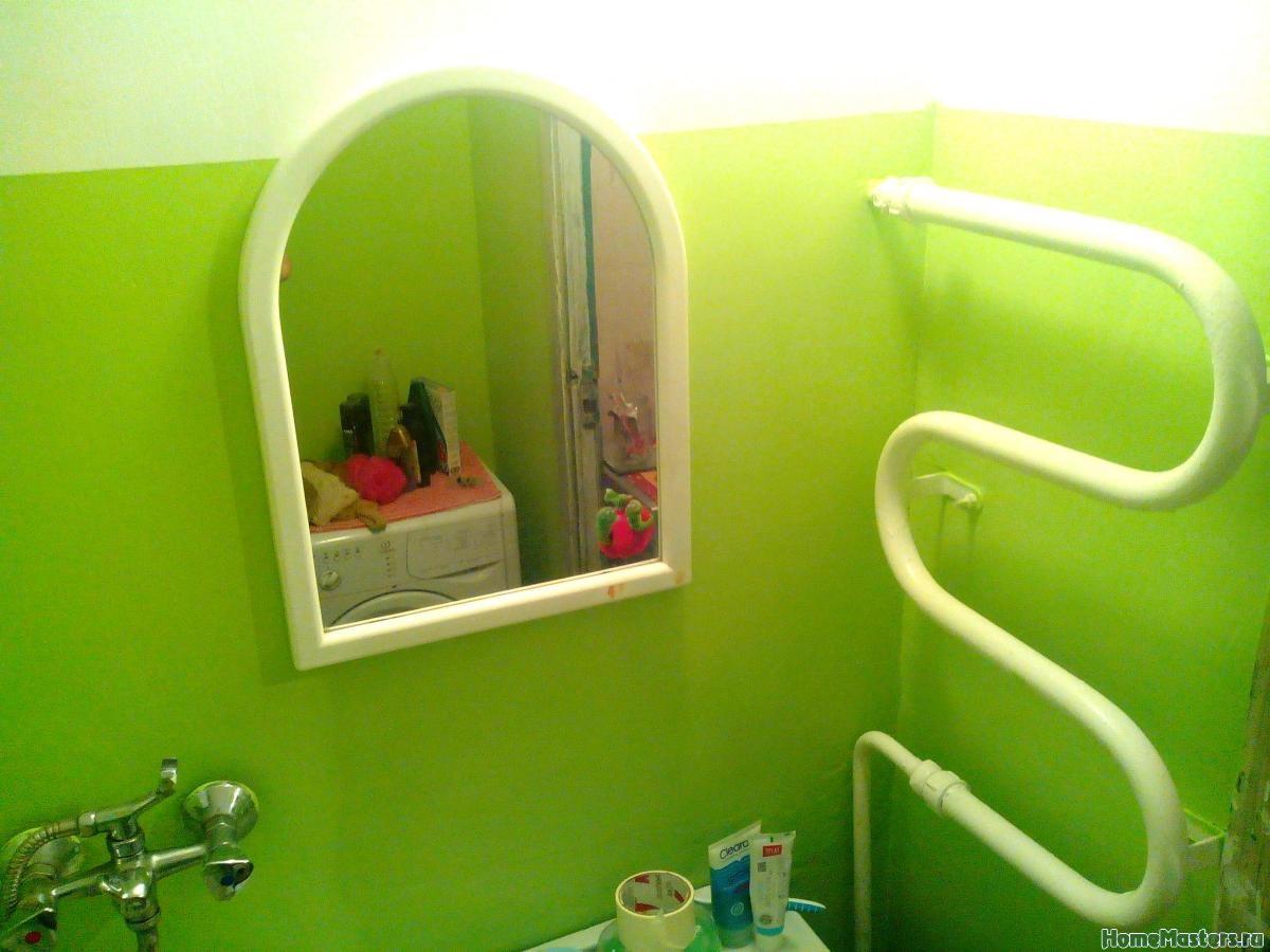 Окрашивание стен в ванной комнате своими руками