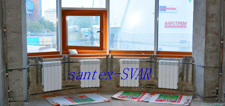 Схемы монтажа радиаторов отопления. неформат и нестандарт - .