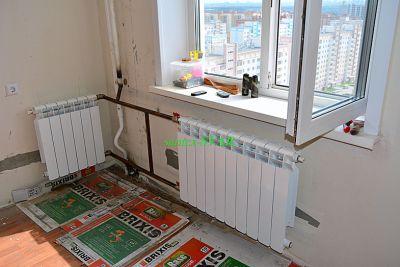 монтаж отопления в угловой квартире - Размер 238,91К, Загружен: 280