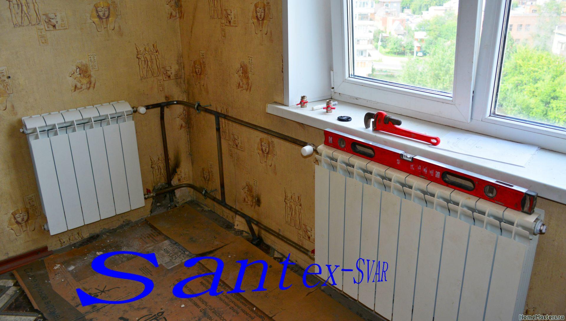 Правила установки радиаторов отопления в угловой комнате