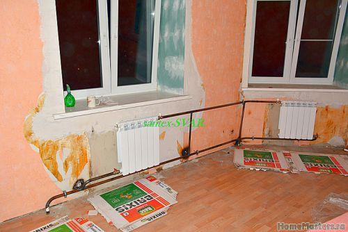 монтаж отопления в угловой квартире - Размер 503,94К, Загружен: 0