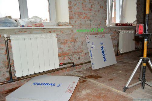 замена радиатора отопления ГЛОБАЛ ленинградка - Размер 672,84К, Загружен: 0